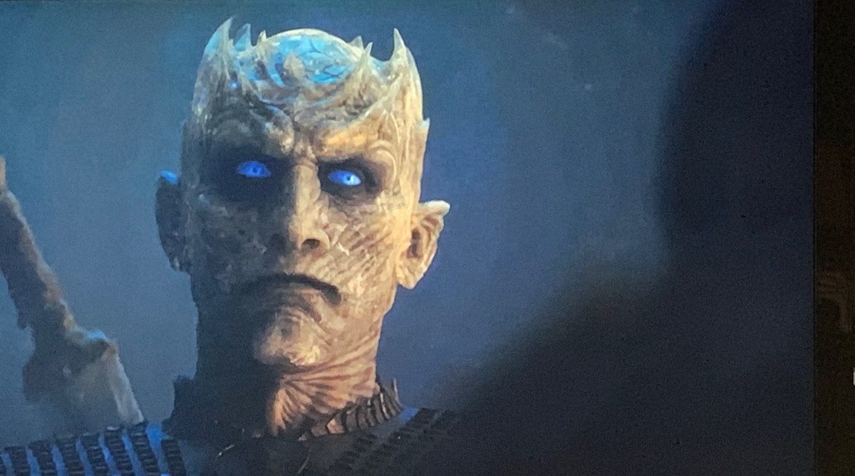 Game of Thrones the Night King in The Long Night