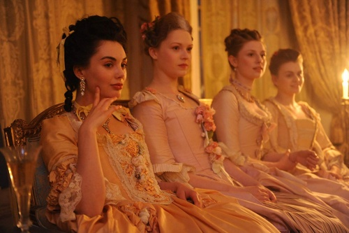 Other Sex Workers in Harlots sitting together