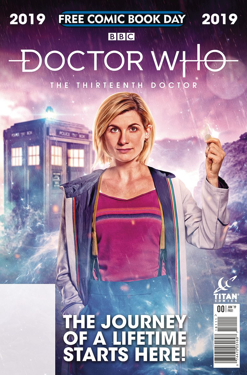 doctor who fcbd issue from titan comics.