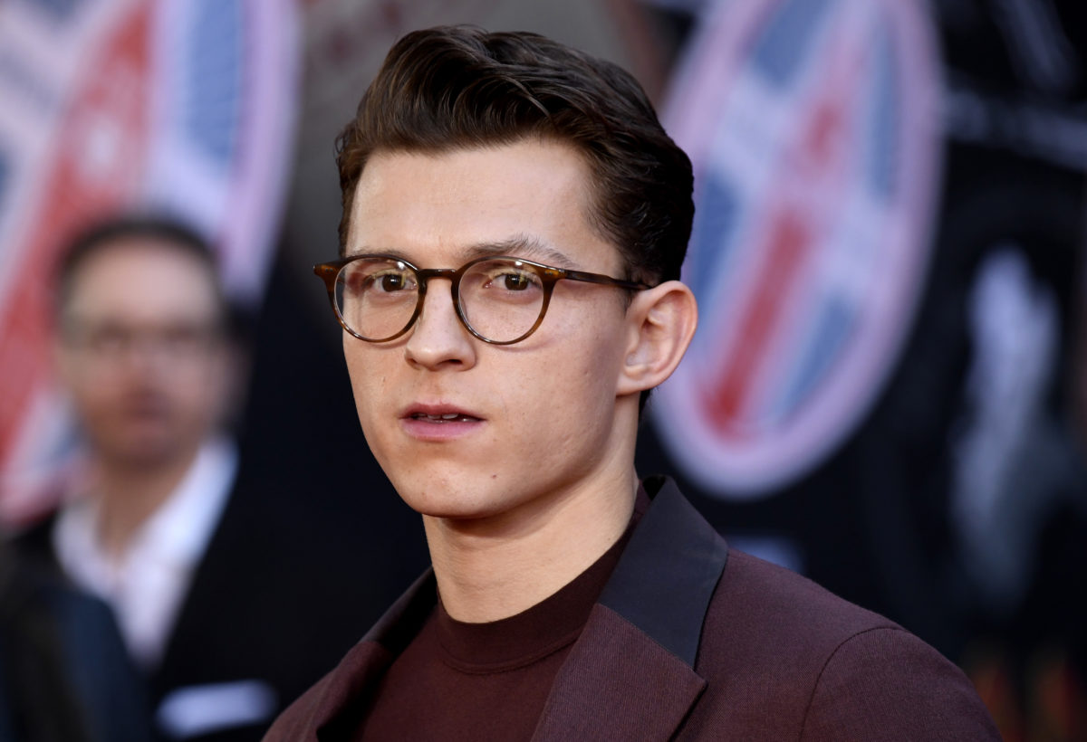 Tom Holland at the premiere of Spider-Man: Far From Home