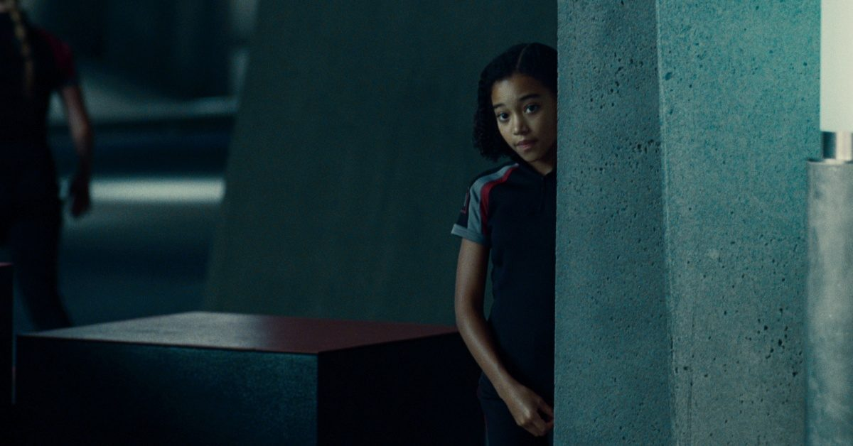 Amandla Stenberg as Rue in The Hunger Games (2012)