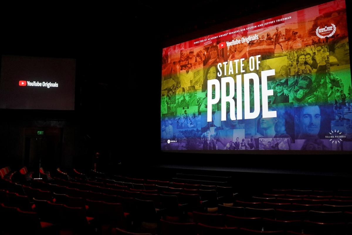 General view of atmosphere YouTube Originals State Of Pride Los Angeles Premiere at The Ricardo Montalban Theatre on May 29, 2019 in Hollywood, California. (Photo by Presley Ann/Getty Images for YouTube)