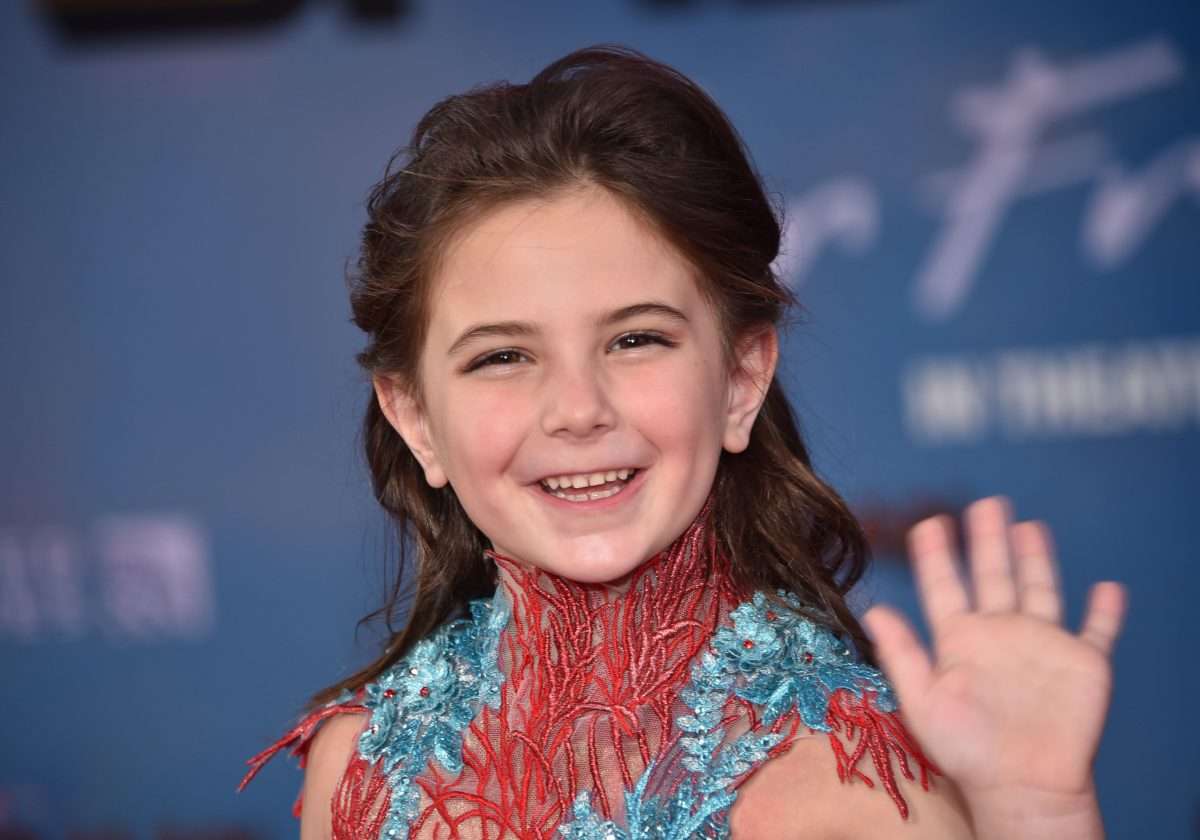 Lexi Rabe at the premiere of Spider-Man: Far From Home