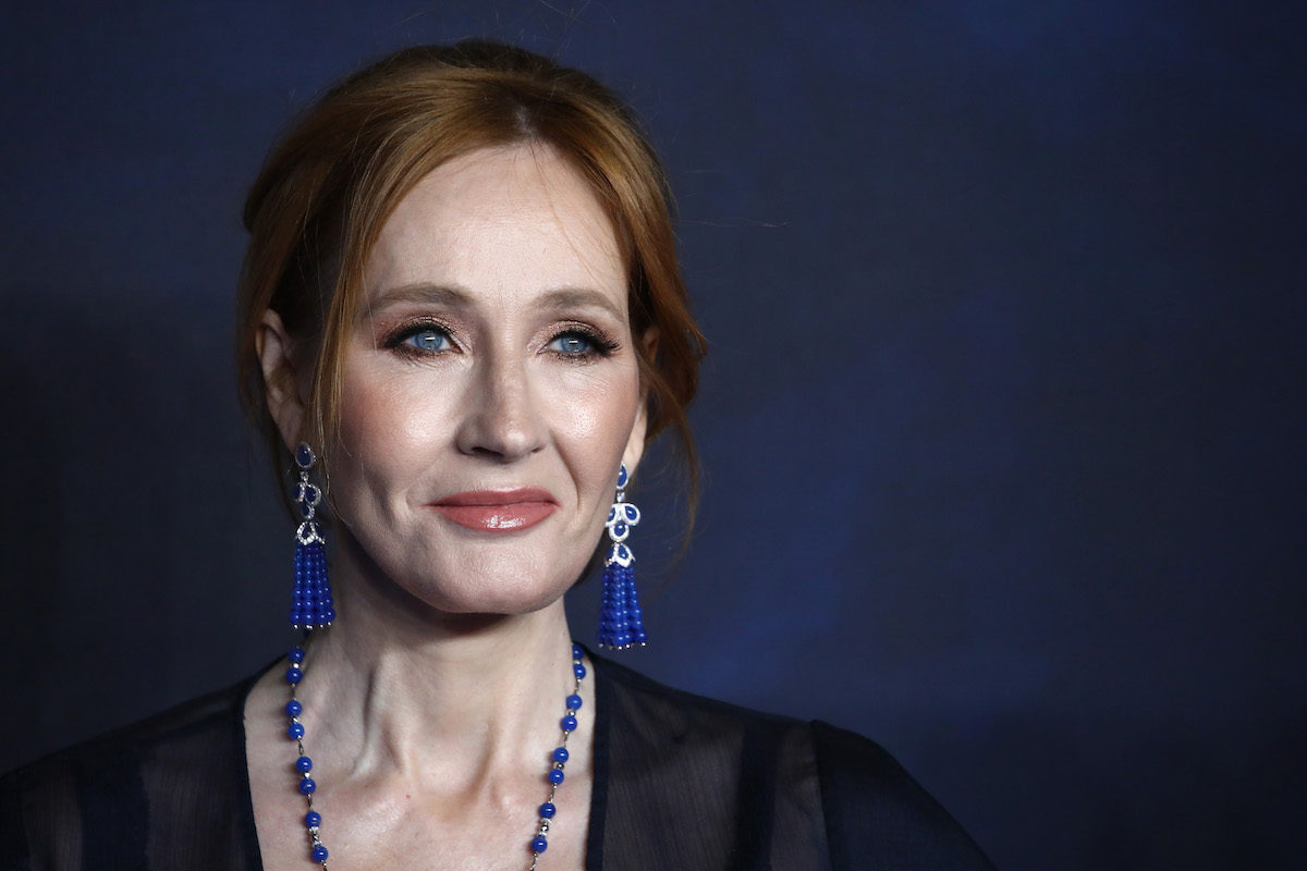 "J.K Rowling attends the UK Premiere of ""Fantastic Beasts: The Crimes Of Grindelwald"""
