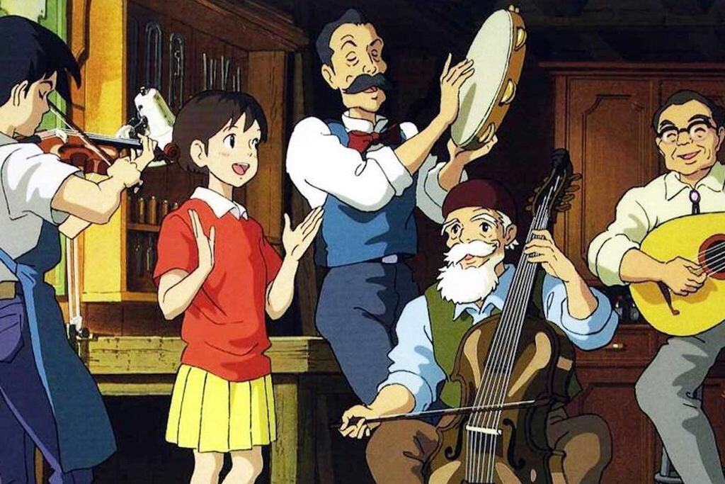 Whisper of the Heart is a beautiful creative movie