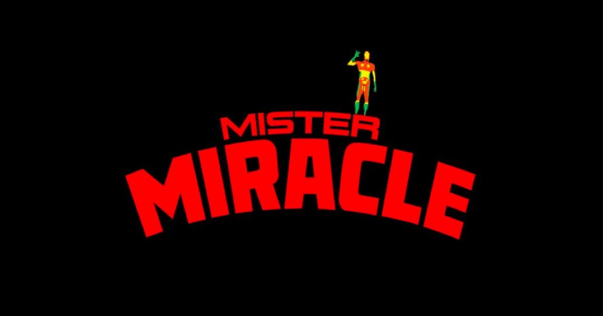 Mister Miracle title image.