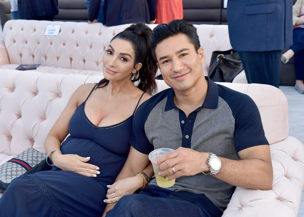 Mario Lopez at an event