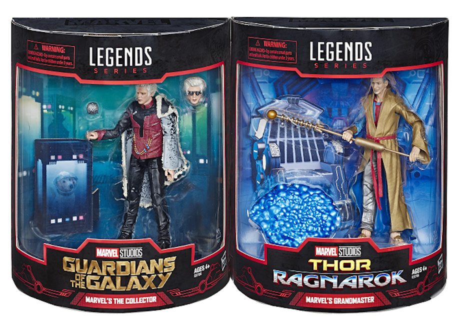 grandmaster and collector mcu legends set