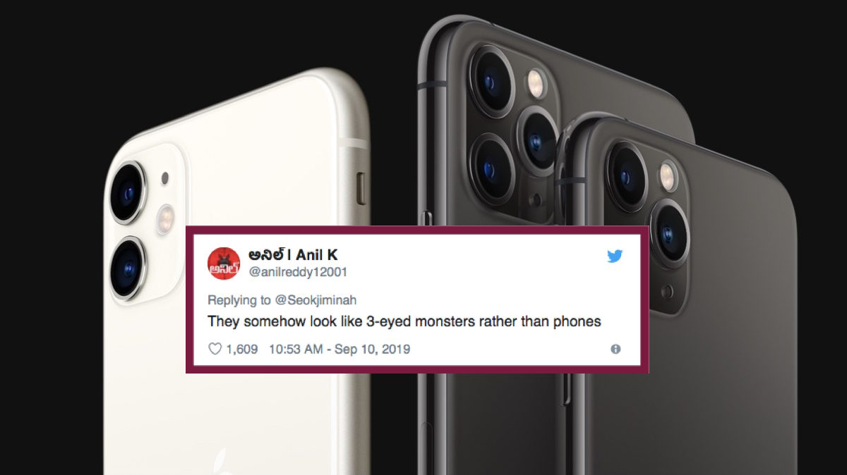 Apple iPhone 11 Max Wide cameras trypophobia