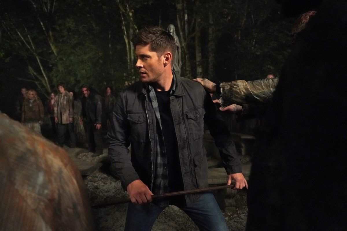 Dean winchester fights hell zombies
