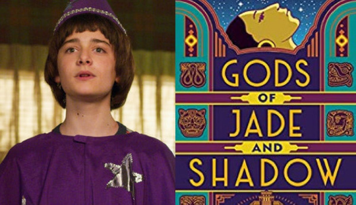 Will in Stranger Thigns and Gods of Jade and Shadow book cover.