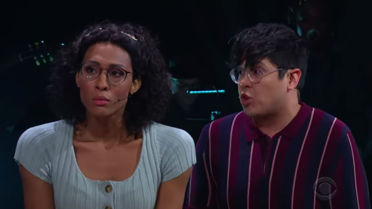 George Salazar and Mj Rodriguez in Little Shop of Horrors