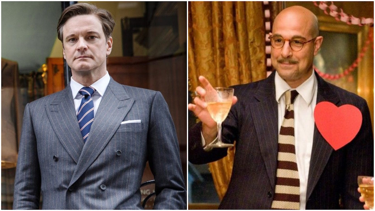 Colin Firth and Stanley Tucci to play a couple in Supernova