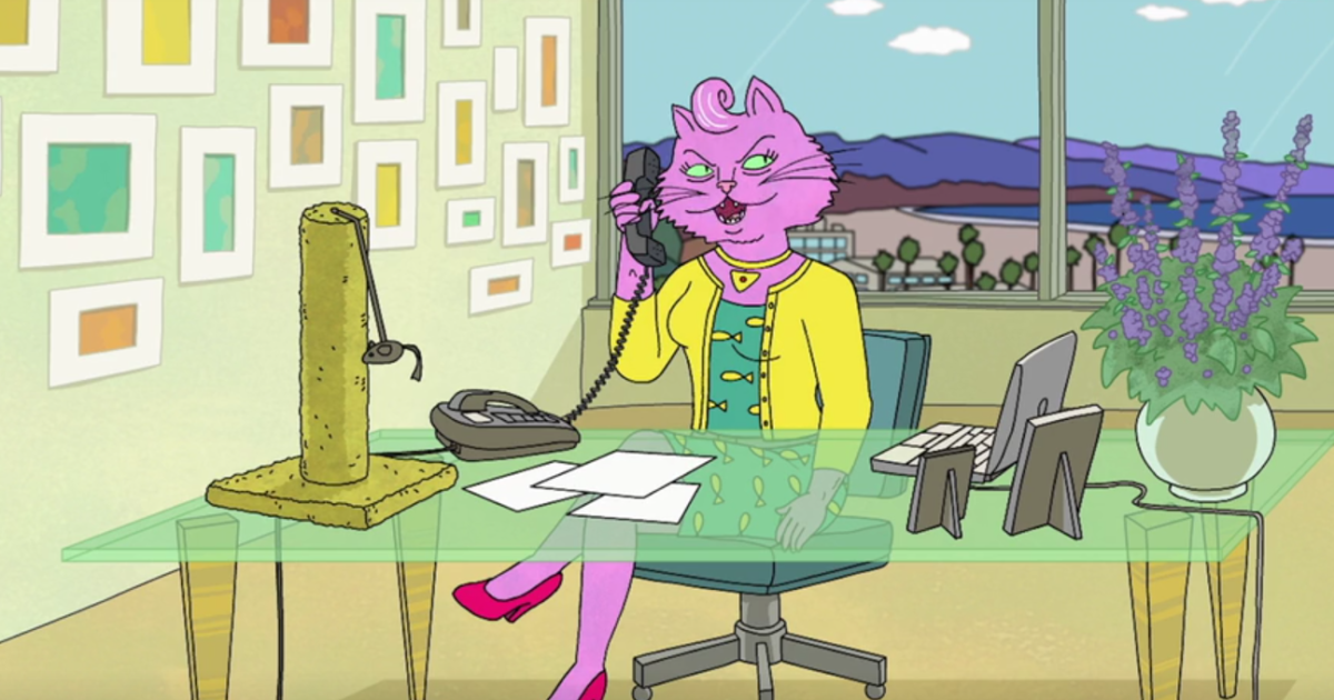 Image result for bojack princess carolyn