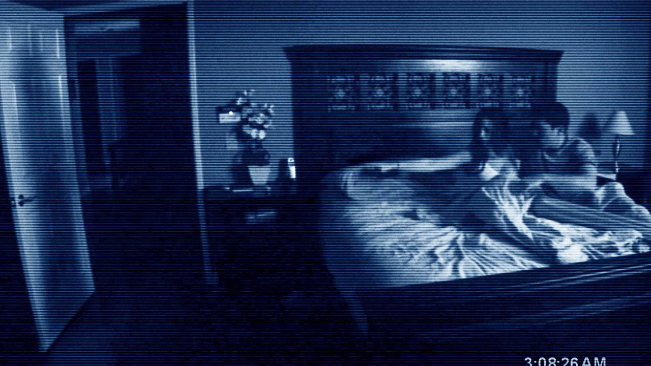The poster for Paranormal Activity promised terror to audiences.