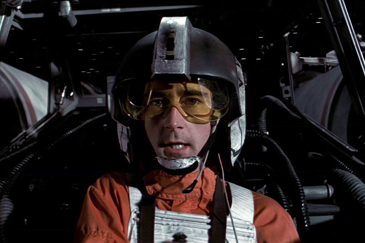 Denis Lawson as Wedge Antilles in Star Wars