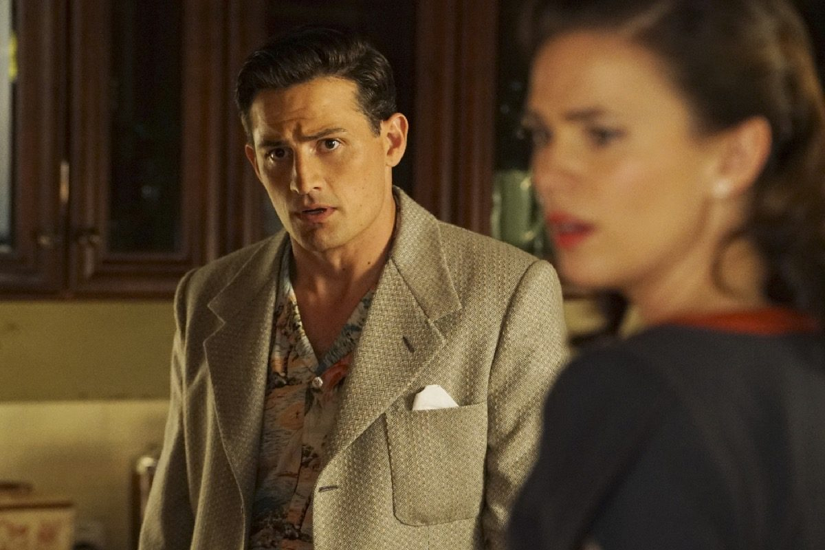 Daniel Sousa and Peggy Carter in Marvel's Agent Carter.