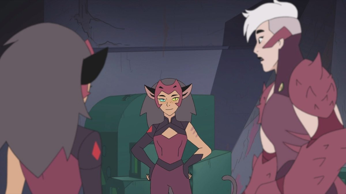 Catra and Scorpia in Netflix's She-Ra and the Princesses of Power.