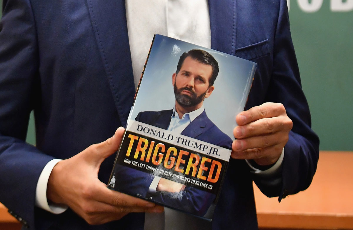 "Don Jr ""Triggered"" book cover"