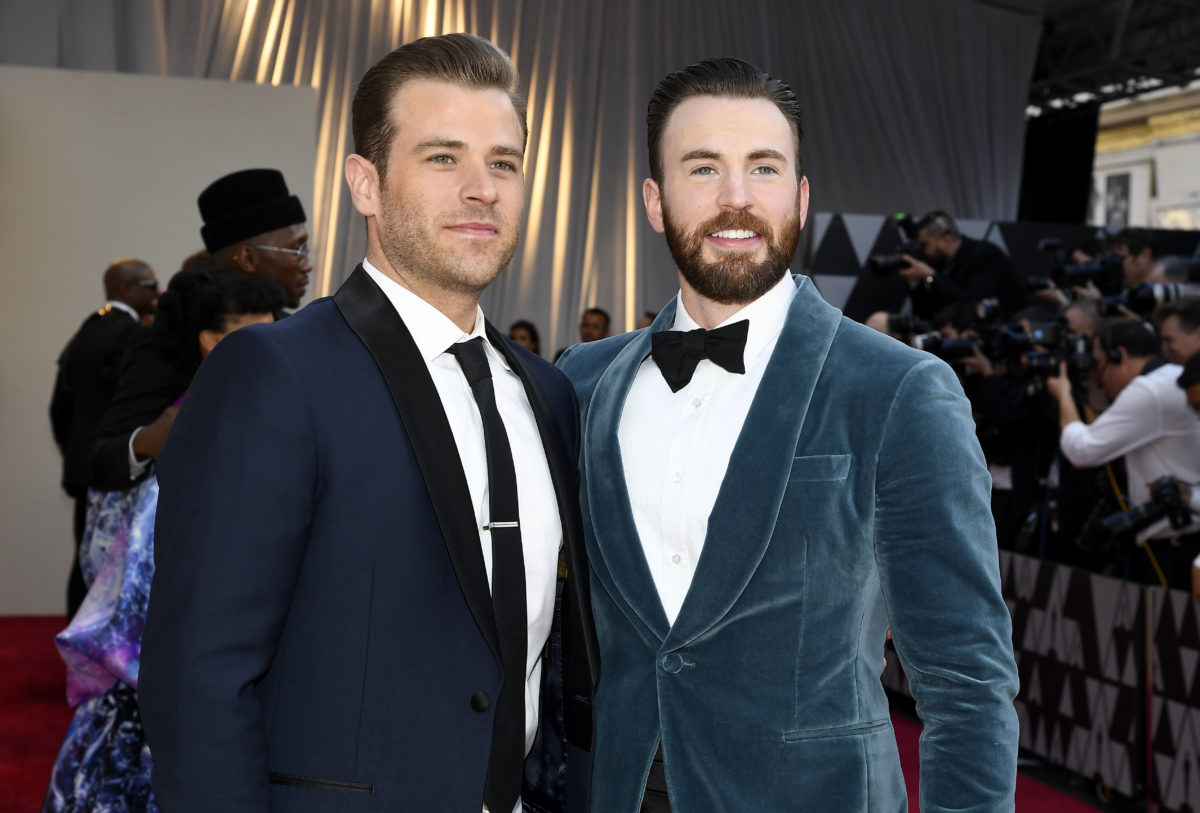 Chris Evans and Scott Evans