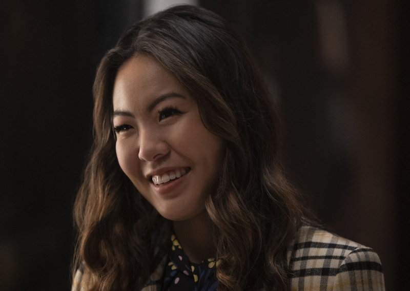 nicole kang as mary hamilton in Batwoman