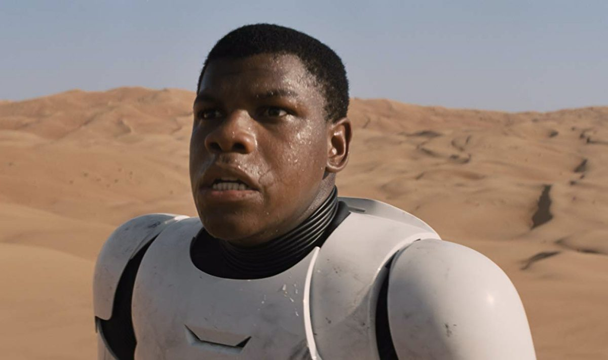 John Boyega in Star Wars: Episode VII - The Force Awakens (2015)