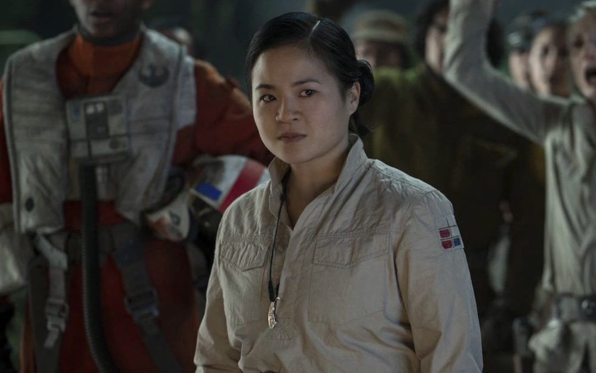 Rose Tico in The Rise of Skywalker.