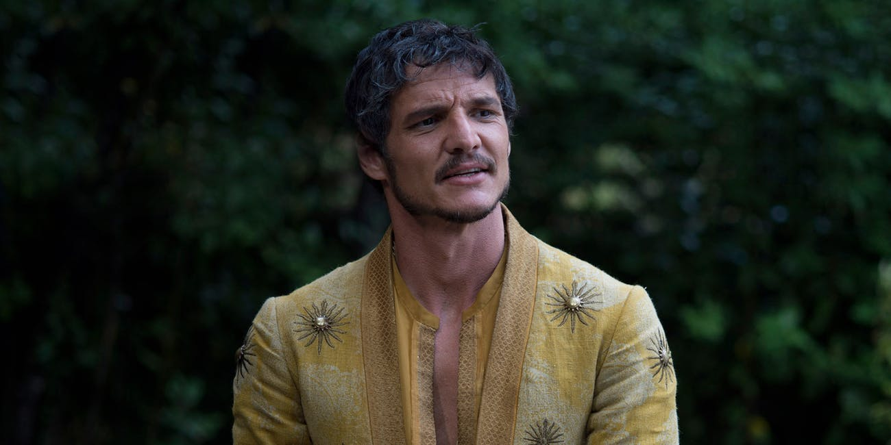 Pedro Pascal as Oberyn Martell in Game of Thrones