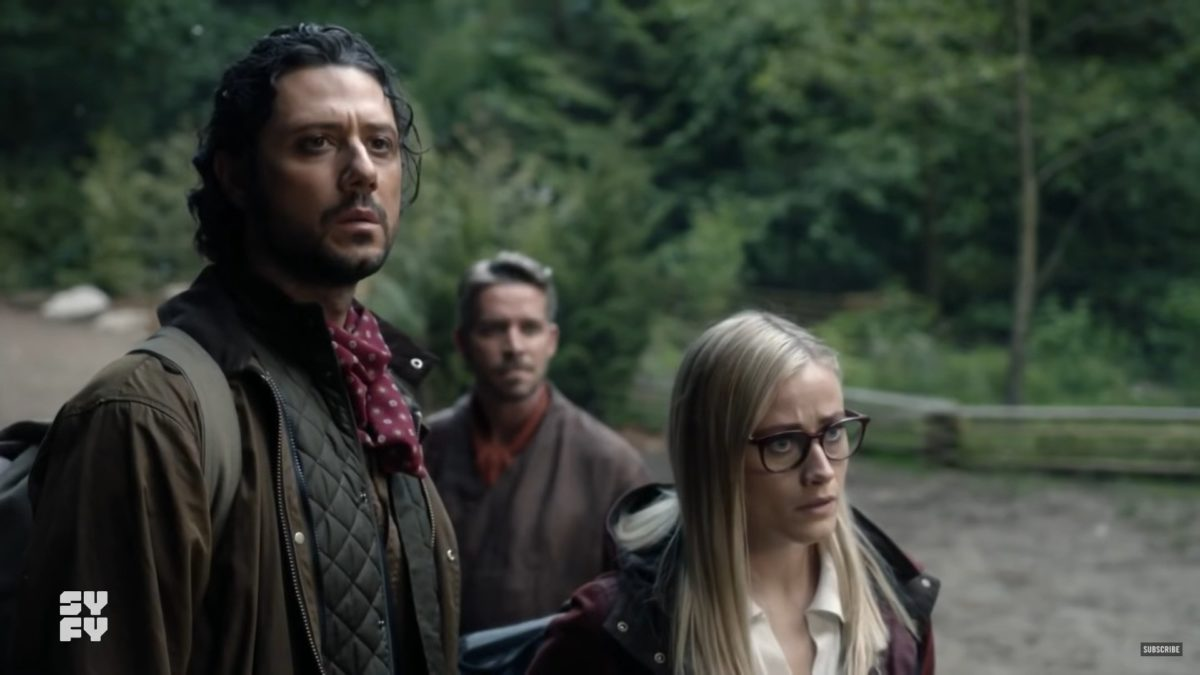 hale appleman and olivia taylor dudley and eliot and alice in the magicians