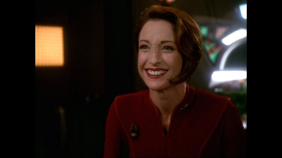 Kira Nerys on Star Trek: Deep Space Nine.