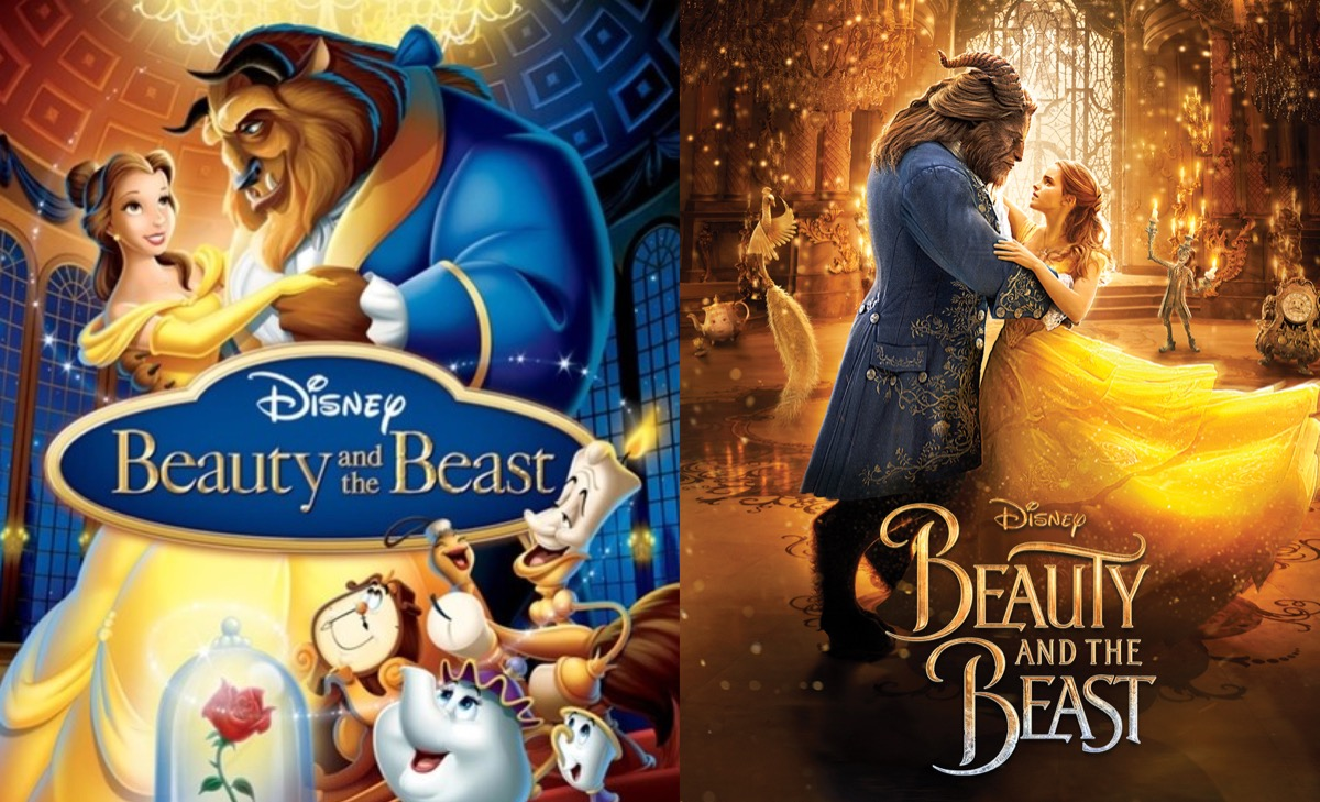 Disney's Beauty and the Beast posters.