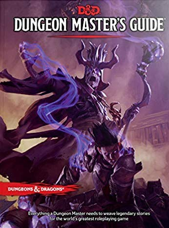 Dungeon Master's Guide book cover.