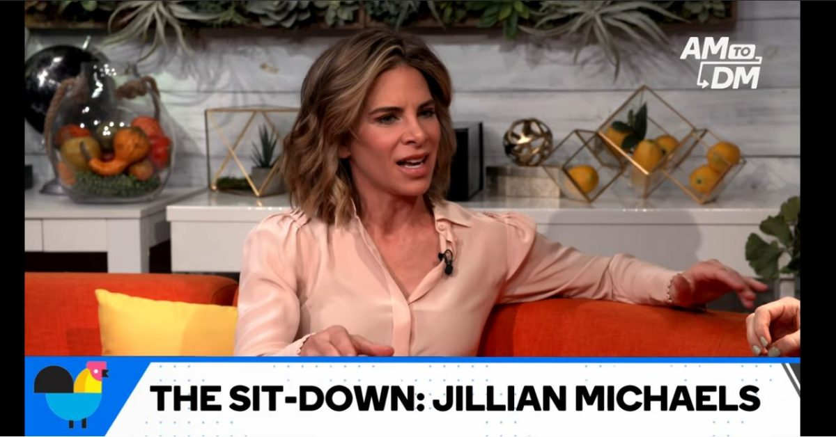 jillian michaels on buzzfeeds am2dm show