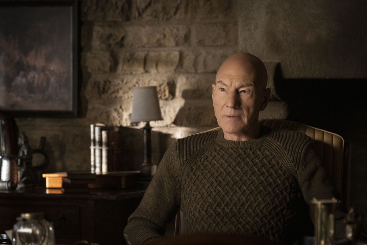 Pictured: Sir Patrick Stewart as Jean-Luc Picard of the CBS All Access series STAR TREK: PICARD. Photo Cr: Trae Patton/CBS ©2019 CBS Interactive, Inc. All Rights Reserved.