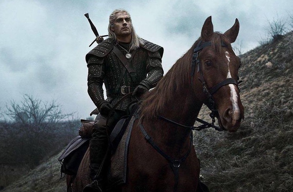 Geralt and Roach the horse on The Witcher