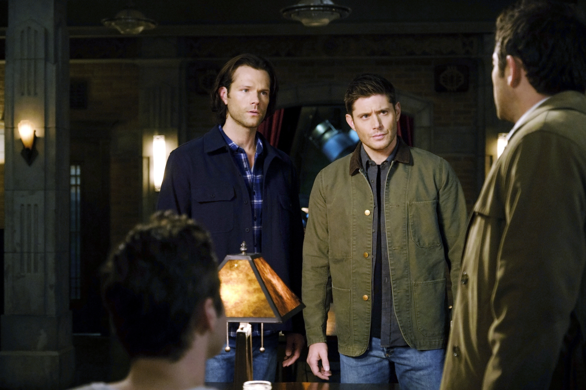 "Supernatural -- ""Destiny's Child"" -- Image Number: SN1513a_0331b.jpg -- Pictured (L-R): Jared Padalecki as Sam and Jensen Ackles as Dean -- Photo: Jeff Weddell/The CW -- © 2020 The CW Network, LLC. All Rights Reserved."