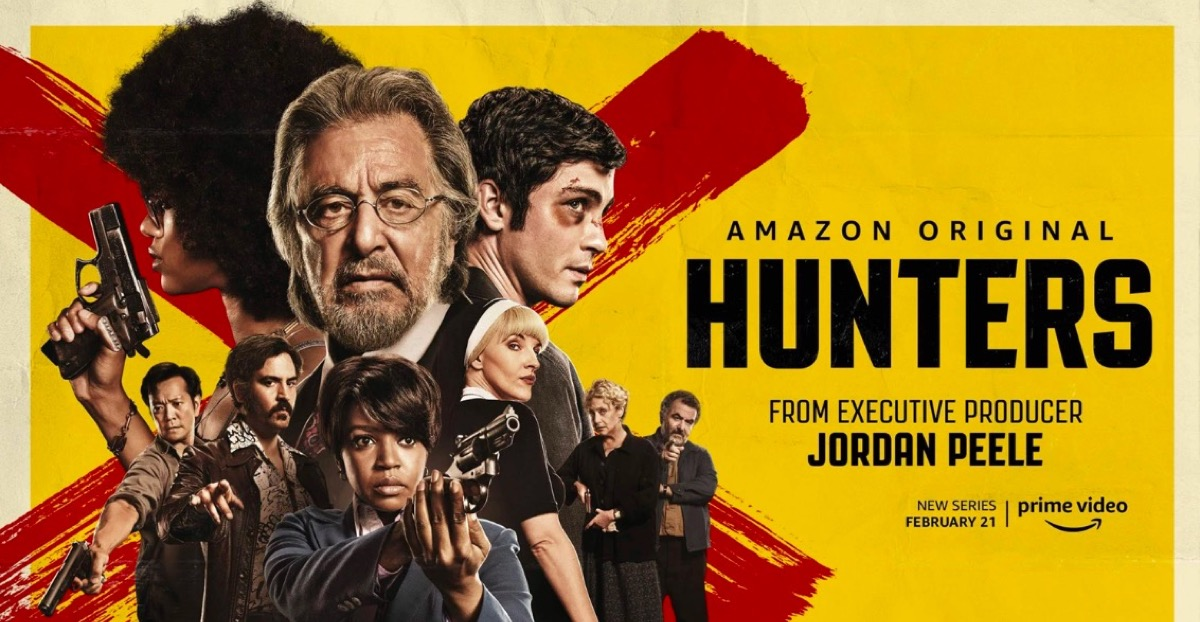 Hunters Amazon show poster.