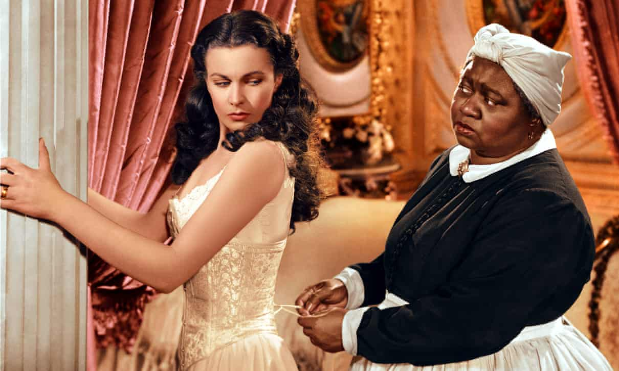 Scarlett O'Hara and Mammie in Gone With the Wind.