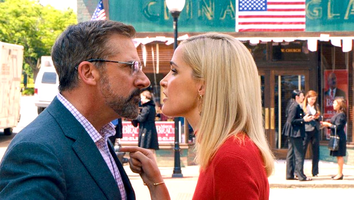 Rose Byrne and Steve Carrell in Irresistible