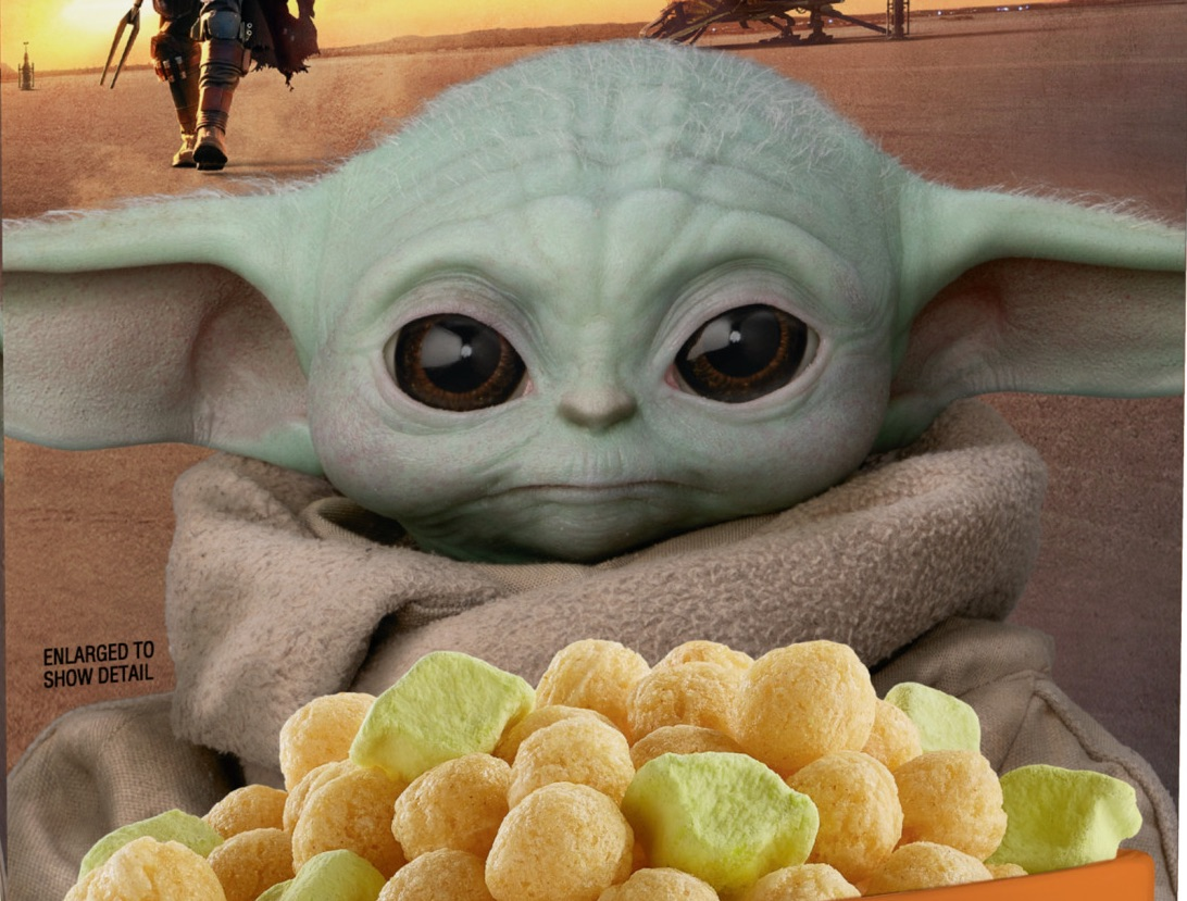 Baby Yoda 'The Child' General Mills Cereal