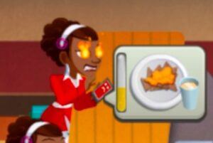 Barb in Cooking Dash.
