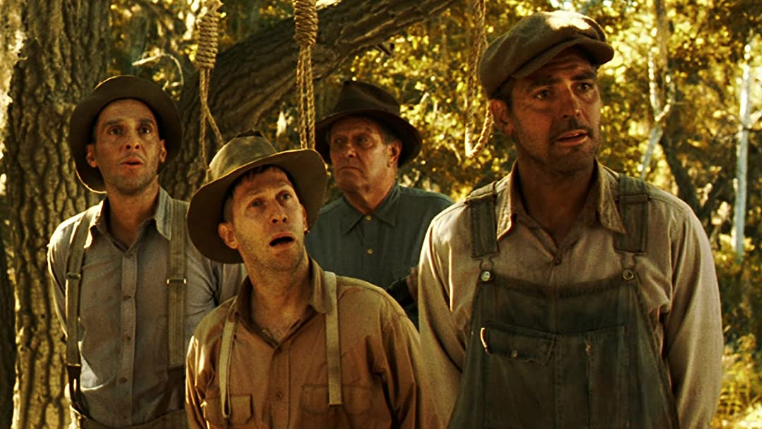 Tuturro, nelson and clooney in O Brother where art thou