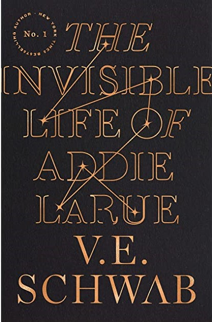 Book Cover for The Invisible Life of Addie LaRue by V.E. Schwab