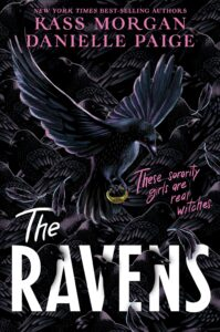Book cover for The Ravens by Danielle Paige and Kass Morgan