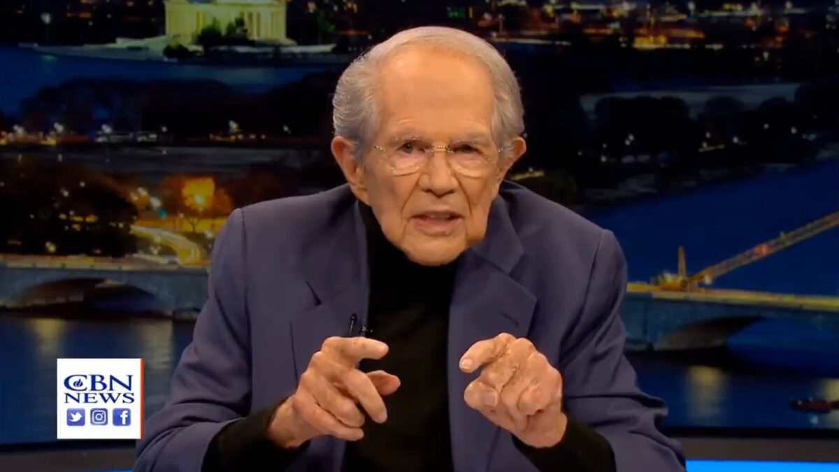 pat robertson continues to be terrible