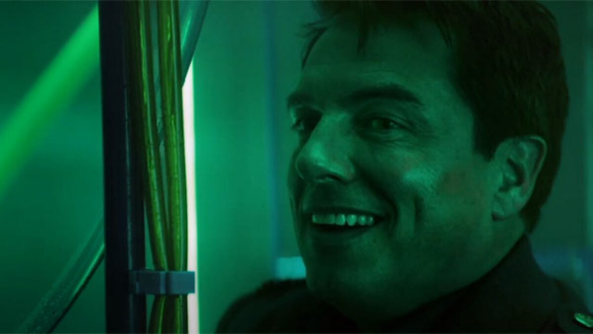 Captain Jack Harkness on Doctor Who