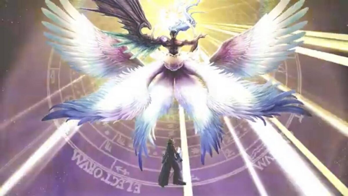 Image of Sephiroth from Smash Brothers Ultimate