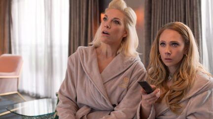 Juno Temple and Hannah Waddingham in Ted Lasso (2020)