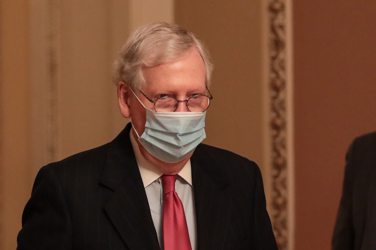 Mitch McConnell Wants To Tie $2000 Stimulus Checks To ...