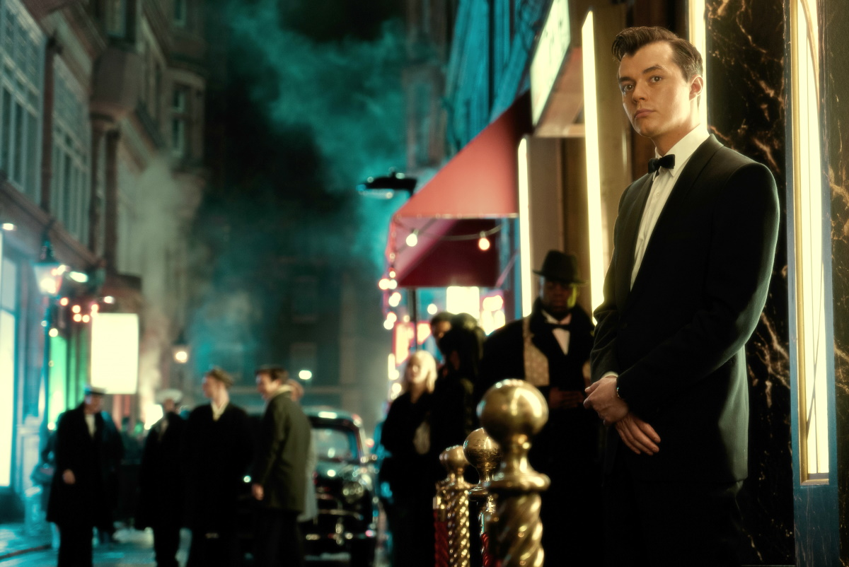 """An image from the pilot episode of """"Pennyworth"""""""